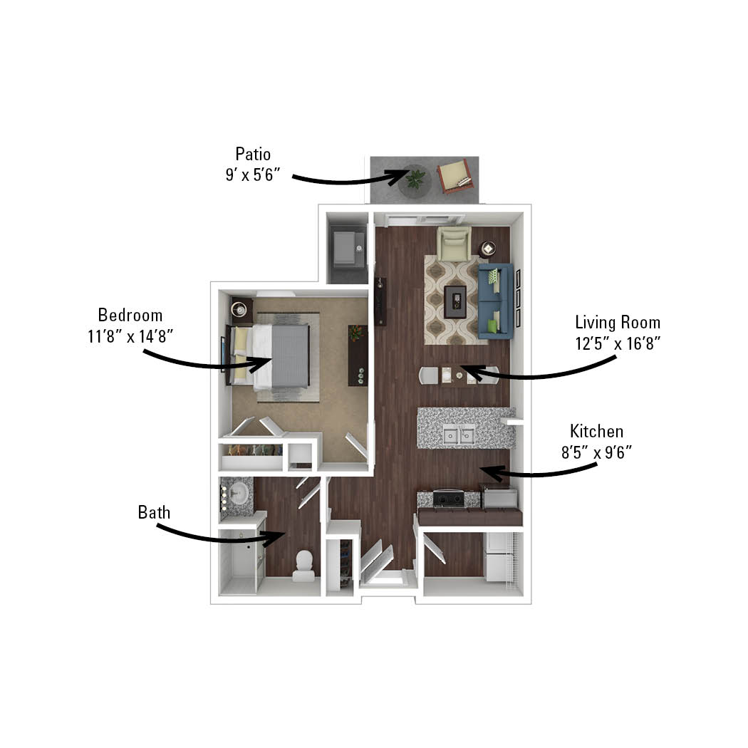 second apartment floor plan