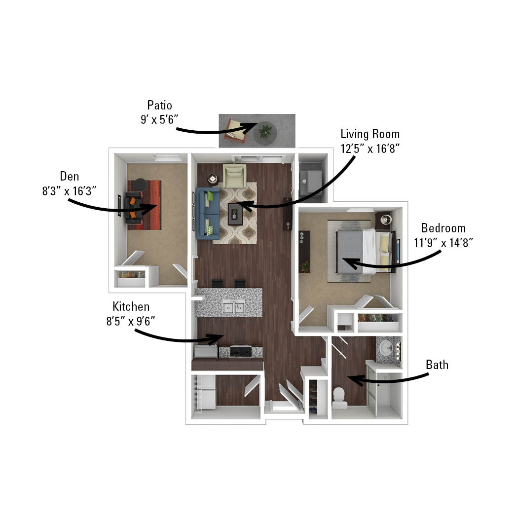 third apartment floor plan